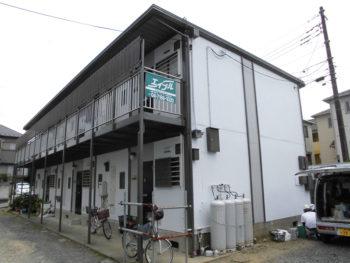 我孫子市根戸 集合住宅S 外壁屋根塗装事例