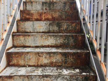 茨城県龍ヶ崎市アパート鉄部・床塗装工事