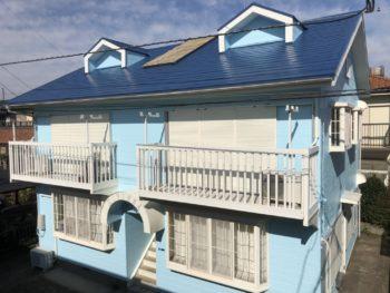 外壁 屋根 塗装 火災保険適応 雨樋交換