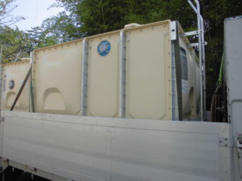 公共工事 受水槽 基礎新設 高架水槽交換 配管工事